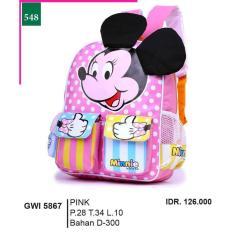 Promo Jual Distro Tas Ransel / Backpack Anak Perempuan - GWI 5867 Murah Terbaik