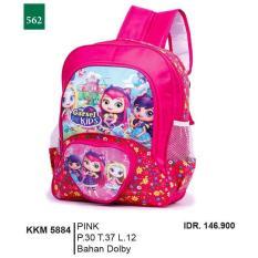 Promo Jual Distro Tas Ransel / Backpack Anak Perempuan - KKM 5884 Murah Terbaik