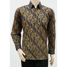 Pusat Jual Beli Promo Kemeja Batik Pria Lengan Panjang Parang Batik Pekalongan Terlaris Termurah Indonesia