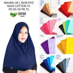Rp 35.000. PROMO Kerudung Jilbab Hijab Murah Khimar Najwa Instan Murah Grosir JilbabIDR35000. Rp 35.500