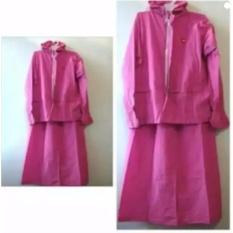 !!! PROMO LARIS Jas Hujan Rok She Mantel Muslimah Jaket Wanita Muslim Woman