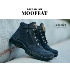 Promo Moofeat Elastico Men Boots Work & Safety Boots Sepatu Pria Klasik Boots Murah