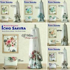 PROMO Mukena Bali Ichio Sakura Edisi White Series