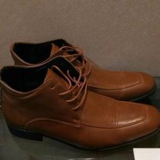 Promo Murah 54% Off - Sepatu Boots Kulit Yongki Komaladi Baru - 8M6cdz