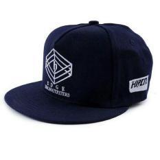 Promo Murah Topi Distro Pria / Hat Male Edge Blue - H 8010