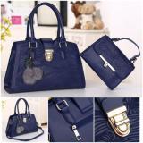 Harga Promo New Arrival Sq2600 Fashion Bag Batam Import Tas Paket 2In1 Set2In1 Free Pompom Handbag A Terbaik