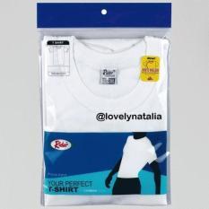 (Promo) O Neck Rider Putih - Style R223B - Kaos Oblong - Jdyhkb