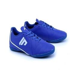 PROMO Sepatu Futsal Warna Biru - Sepatu Futsal Bahan Kulit Harga Murah Gs
