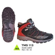 PROMO Sepatu Gunung / Hiking / Boot / Adventure Pria TMS 113 ORI Berkualitas