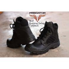 PROMO!!! Sepatu Predator Wolf Safety Boots 6 Inc Tactical Sleting Pria Original