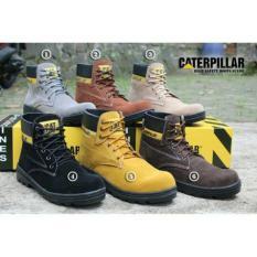 PROMO sepatu safet boots / SEPATU BOOTS / SEPATU PALING MURAH SE-LAZADA