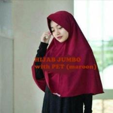 Hijab Jilbab Khimar Instan Simpel Pet RempelIDR49500. Rp 49.900