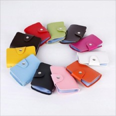PROMO!!! Tas Dompet Kartu Mini IMPORT isi 24 slot Leather SC 012