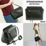 Jual Promo Terbatas Murah Tas Wanita Stradivarius Black Basic Crossbody Bag Original Lgeooy