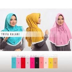 Rp 45.000. PROMO TERMURAH DAN TERBARU Hijab / Jilbab / Kerudung Instan Trifa Kalani Tali ...
