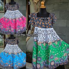 PROMO TERMURAH Daster Modern  Baju Tidur  Klok Kerut 13 By BATIK TRISNO