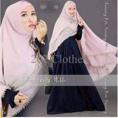 Promo Yunna Syari- Baju Muslim Gamis Maxi Hijab Busui Khimar Terbaru Terlaris