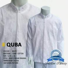promosi Baju Koko Lengan Panjang, Baju Koko Gaul, Baju Koko Putih - Quba murah