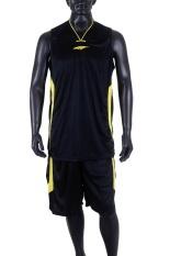 Spesifikasi Proteam Jersey 3Line Bball Black Yellow Yg Baik