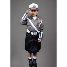 Prsd - Seragam Profesi Untuk Anak TK Dan SD /Baju Karnaval Anak / Polisi / Polwan / Angaktan Udara (AU) / Angkatan Laut (AL) / AKABRI / AKPOL / TNI / ABRI / Pemadam Kebakaran (DAMKAR) / Pilot / Koki / Astronot /Untuk Anak 3 sampai 7 Tahun