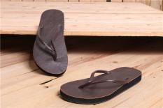 Spesifikasi Pu Kulit Sederhana Pantai Sandal Pria Sandal Jepit Sandal X47 2 Coklat Sepatu Pria Sepatu Sendal Bagus