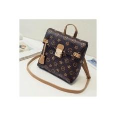 PU leather bag / elegant retro style handbag / Handbag / bagbrown(Export)(Intl) - intl