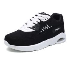 Spesifikasi Pu Leather Men Sneakers Air Cushion Sport Shoes Casual Man Running Shoes Breathable Outdoor Sneakers Female Athletic Shoes Intl Terbaru