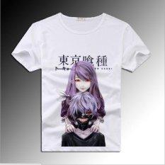 Jual Puding Tokyo Ghoul Kartun T Shirt Putih Intl Termurah
