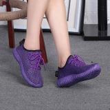 Beli Puding Wanita Old Beijing Sepatu Kelapa Sepatu Ungu Online Tiongkok