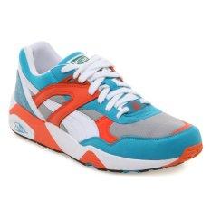 Spesifikasi Puma 357837 07 Trinomic R698 Sneakers Pria Capri Breeze Nasturtium Putih Dan Harganya