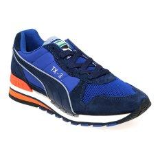 Jual Cepat Puma 359107 02 Tx 3 Modern Tech Sneakers Pria Peacoat Limoges Vermillion Orange