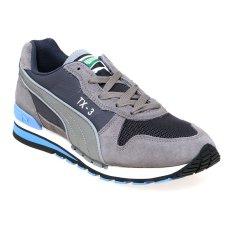 Ulasan Puma 359107 03 Tx 3 Modern Tech Sneakers Pria Steel Gray Periscope Marina Blue