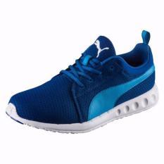 Puma Carson Mesh Sepatu Running True Blue Blue Danube Asli