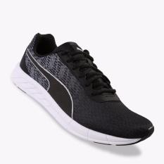 Puma Comet Men S Running Shoes Hitam Putih Original