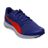 Review Puma Flexracer Running Shoes Royal Blue Red Blast Terbaru