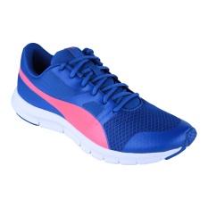Jual Puma Flexracer Running Shoes True Blue Bright Plasma Puma Grosir