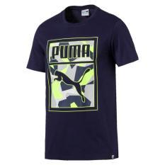 Toko Puma Graphic Logo Tee 57243506 Biru Puma