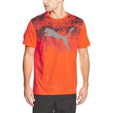 Puma Kaos Essential Tech Tee 51455305 Orange Diskon Jawa Barat