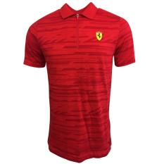 Harga Puma Kaos Polo Ferrari 76229601 Merah Termurah