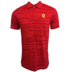 Beli Puma Kaos Polo Ferrari 76229601 Merah Cicilan