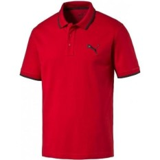 Jual Puma Kaos Polo Shirt Active Hero 59254210 Merah Branded Murah