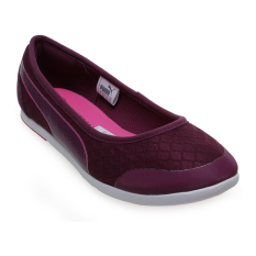 Toko Puma Modern Soleil Ballerina Mu Shoes Magenta Purple Puma Indonesia