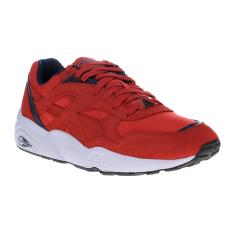 Harga Puma R698 Core Running Shoes Barbados Cherry Peacoat Puma White Murah