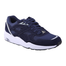 Toko Puma R698 Core Running Shoes Peacoat Gray Violet Puma White Online Indonesia