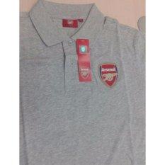 Promo Toko Arsenal Royal Arsenal Crest Polo 92500805 Abu Abu