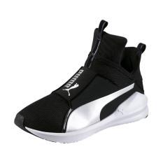 Jual Puma Sepatu Training Wanita Fierce Core 18897712 Hitam Import