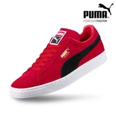 Puma sneaker suede classic +  - 36324225 - merah