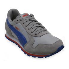 Review Terbaik Puma St Runner Nl Running Shoes Gray Violet Puma Royal
