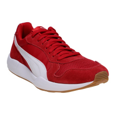 Spek Puma St Runner Plus Running Shoes Barbados Cherry Puma White