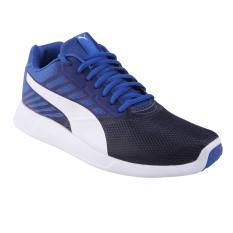 Harga Puma St Trainer Pro Running Shoes True Blue Puma White Online Indonesia